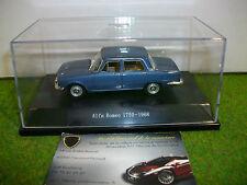 ALFA ROMEO 1750 année 1968 bleu au 1/43 STARLINE voiture miniature de collection