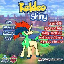 Pokemon Sword And Shield Shiny Keldeo 6Ivs Max Evs