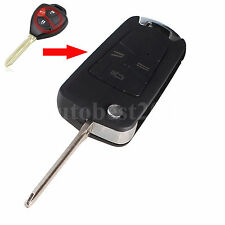 Flip Folding Remote Key Shell Case For Toyota Hilux Rav4 Corolla Camry 3 Buttons