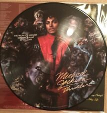 Michael Jackson Thriller Limited Edition Picture Disc Vinyl LP