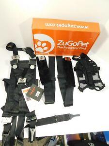 ZuGoPet The Rocketeer Pack (Car Harness) MEDIUM Pet Safety Car Harness