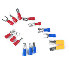 280pcs 15styles assorted crimp spade terminal insulated electric connector  R
