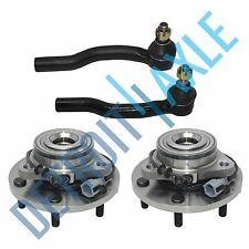 for 2004-2007 Nissan Armada Titan Front Wheel Bearing Hubs w/ABS Outer Tie Rod