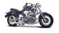 BMW R 1200 C blau Maßstab 1:18 Motorrad Modell von maisto