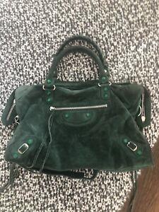 discreción etiqueta Ciencias  Balenciaga Suede Bags & Handbags for Women for sale | eBay