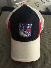New York Rangers Cap Reebok FLEX FIT RBK NHL ONE SIZE EXCELLENT CONDITION