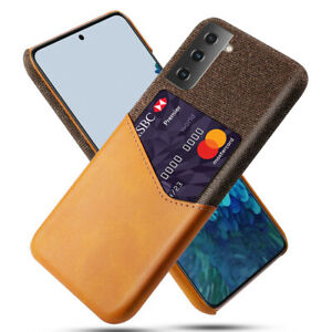 For Samsung Galaxy S21 Ultra S21 Plus 5G Phone Case Fashion Leather Back Cover