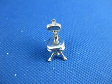 VINTAGE STERLING SILVER MOVABLE CHAIR CHARM
