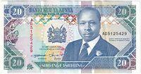 1993 | Kenya 20 Shillings Banknote | Banknotes | KM Coins
