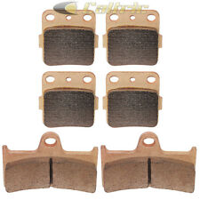 Brake Pads FITS YAMAHA Grizzly 660 YFM660 Front Rear Brakes 2002-2008