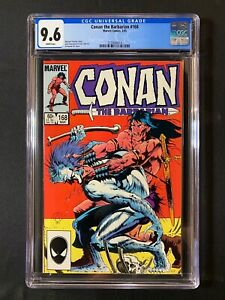 Conan the Barbarian #168 CGC 9.6 (1985)