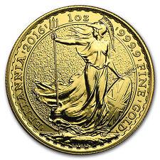 2016 Great Britain 1 oz Gold Britannia BU - SKU #93765