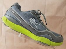 Kuru Carrera Mens Running Shoe Size 14 Grey Neon Training Sneaker 101609
