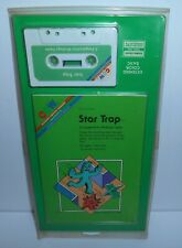 Vintage CCW Radio Shack TRS-80 Computer Game Star Trap New Old Stock 1980's