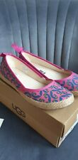 UGG Australia Womens MARRAKECH Pink Espadrille Flat Shoes UK 5.5