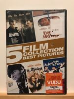 Brand New ~ 5 Film Collection: Best Pictures (DVD, 2015, 5-Disc Set)