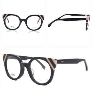FENDI designer Eye Glasses Frame (FF 0246 WAVES KB7) Cat Eye Full Rim RRP£297.00