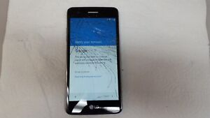 LG ARISTO LGMS210 BLUE METRO SMARTPHONE (FOR PARTS) (PLEASE READ BELOW)