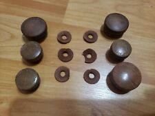 Vintage Firestone Radio Knobs 4-A-15 Air Chief Concert Sheraton stamped knobs