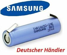Samsung INR18650-29E - 18650 - 2900mAh 3.7V - 10A - Flat-Top - Lötfahnen U o. Z