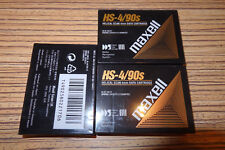 3 x Maxell HS-4 / 90 Digital Audio Tape   Cassette.  >  DAT  LEER OVP Folie