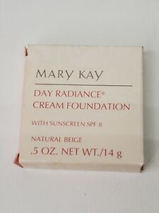 Mary Kay NATURAL BEIGE Day Radiance Cream Foundation NEW #0612