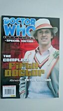 Doctor Who Magazine The Complete Fifth Doctor  (Rare Special Edition)
