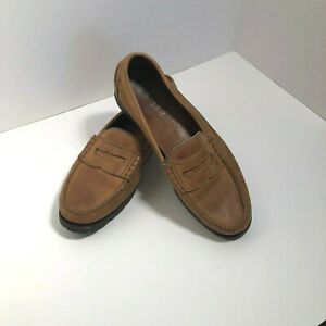 Cole Haan Handsewn Leather Slip On Loafers Men's SZ 11