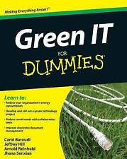 Green IT For Dummies (For Dummies (Computer/Tech))-ExLibrary