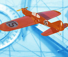 "Control line 51"" .35 Model Airplane  FOLKERTS SK-4 profile Stunter Printed Plans"