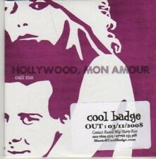 (AZ662) Hollywood, Mon Amour, Call Me - DJ CD
