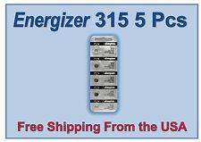 Energizer 315 (SR716SW) Silver Oxide Battery 1.55 Volt x 5