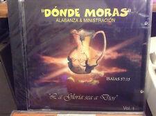 Donde Moras - La Gloria sea a Dios - Isaias 57:15 - CD