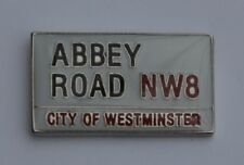 Abbey Road Quality Enamel Lapel Pin Badge