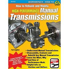 SA103 How to Build & Modify Performance Manual Transmissions Book Muncie Borg