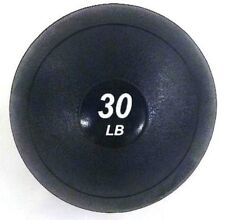 30 LB Crossfit Slammer Ball No-Bounce Slam Weighted Soft Medicine Fitness Ball