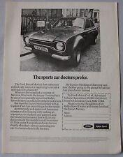 1972 Ford Escort Mexico Original advert No.1