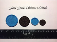 Large and Small OREO Biscuits Food Grade Silicone Moulds