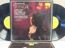 DG 2707 121 Puccini- Tosca 2-LP Katia Ricciarelli Jose Carreras BPO Von Karajan