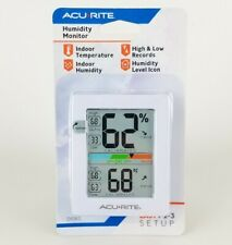 "AcuRite Monitor for Greenhouse Home Office 3 x 2.5""  Room Thermometer Gauge New"