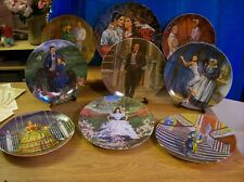 """Knowles """"The Gone with the Wind"""" Collection with Boxes and COA's 9 Pcs"""