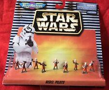 Star Wars Micro Machines ~ REBEL PILOTS ~ Galoob 1996 ~ NEW ON CARD