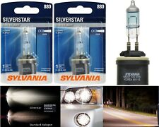 Sylvania Silverstar 880 H27 27W Two Bulbs Fog Light Replacement Upgrade Lamp OE
