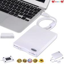 External USB FLOPPY Drive Portable Disk Reader PC Windows 7 8 10 Mac 3.5 1.44 MB