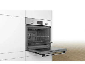 Bosch HHF113BR0B Integrated Single Stainless Steel Oven with 2 Year Warranty