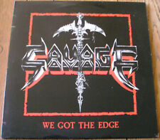 SAVAGE MAXI 45 WE GOT THE EDGE / ZEBRA FRANCE 1984