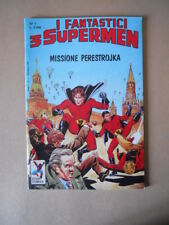 I Fantastici 3 Supermen n°1 1989 Star Comics   [G108A]