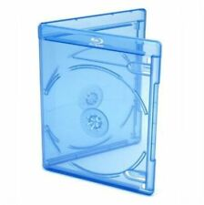 Viva Elite Blu Ray for 2 Discs Case Slim With 6 Mm Spine Pack of 50 Blue Cases