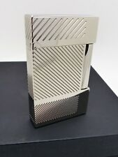 Genuine S.T.Dupont Platinum Plated Lighter S/N:1J1BA03 Ref:16422 Ex/Display