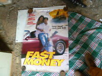 FAST MONEY VIDEO   1 SHEET MOVIE POSTER AUST EDITION